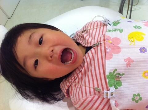 はじめての虫歯治療をしました。